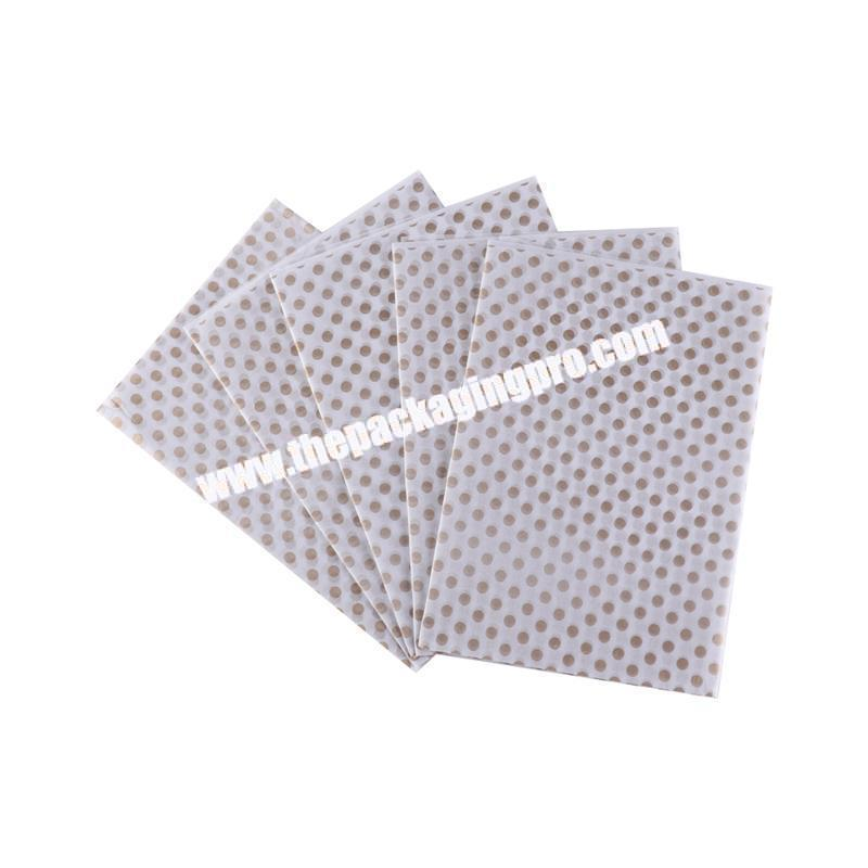 Custom design fancy high quality tissue paper packing