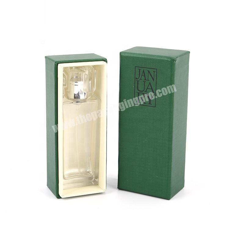 Custom Design Handmade Cardboard Paper Cosmetic Perfume Bottle Packaging Gift Box