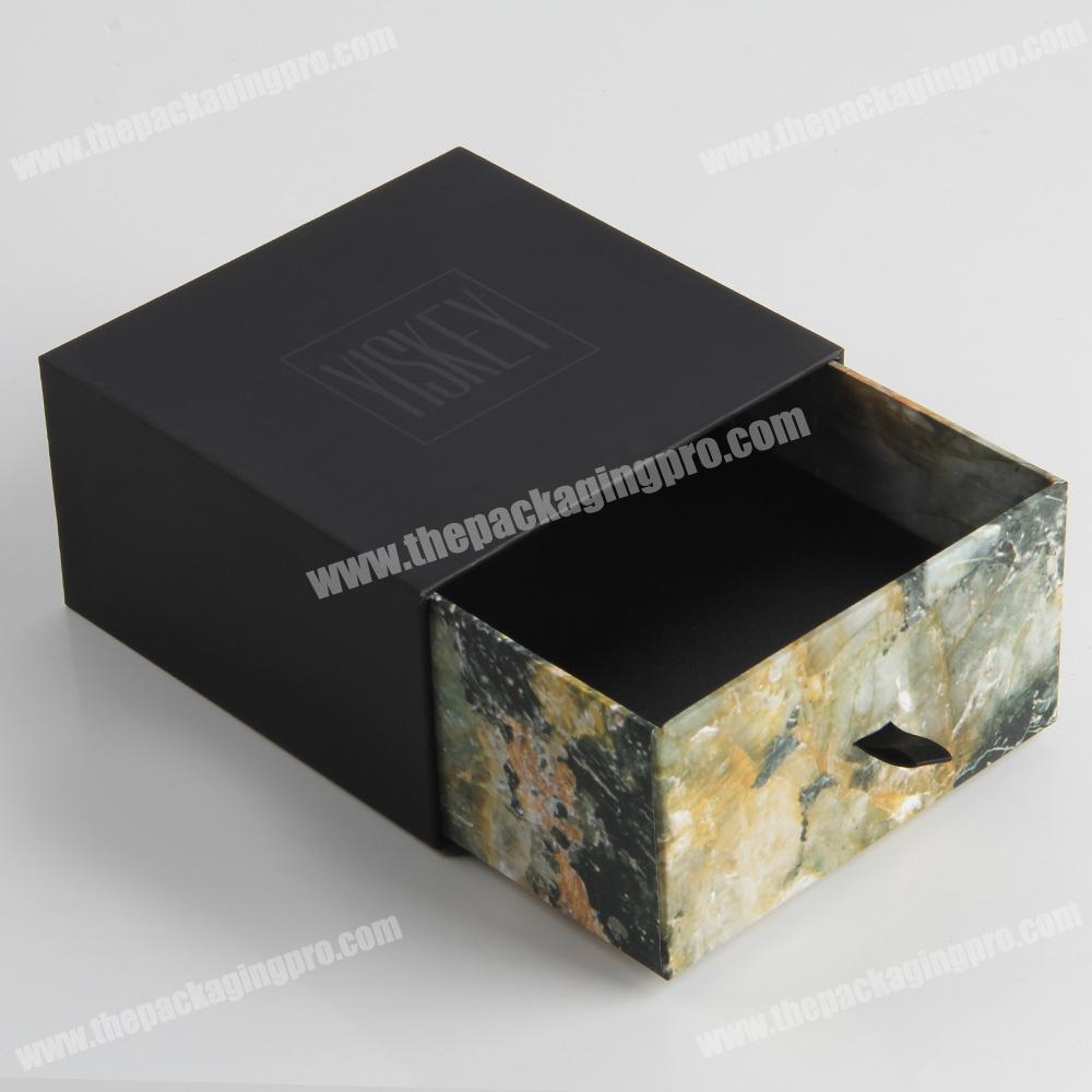 Custom design packaging cosmetic small glass bottles paper box