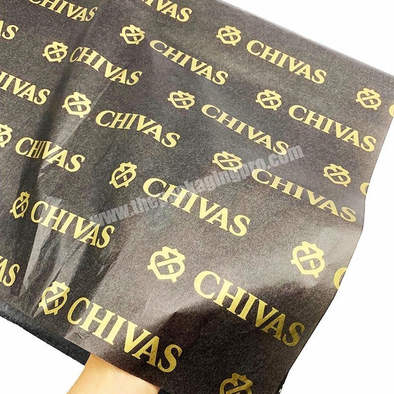 Manufacturer Custom Eco friendly full printed wrapping tissue paper