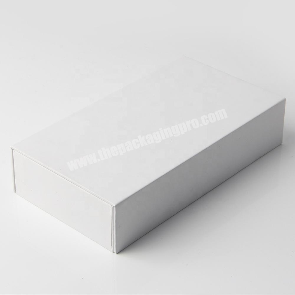 Manufacturer custom empty luxury false eyelash packaging box with logo