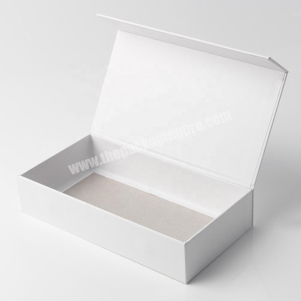 Factory custom empty luxury false eyelash packaging box with logo