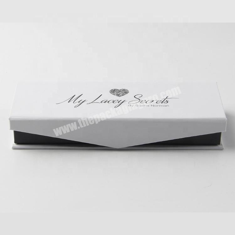 Supplier custom false eyelash packaging box gift wrapping paper boxes factory