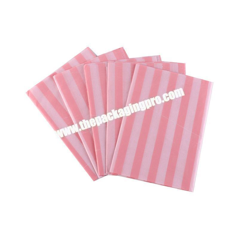 Custom fancy paper wax strips