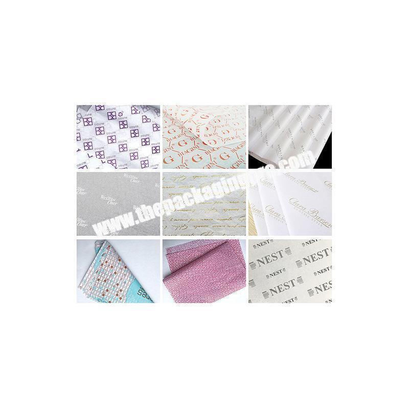 Custom fancy wet tissue paper
