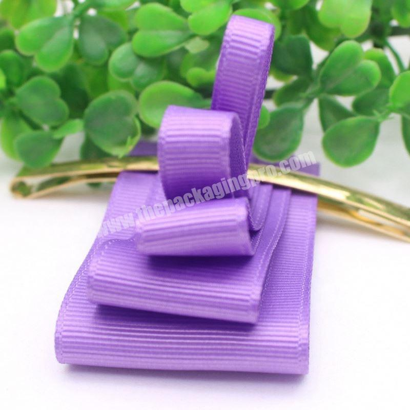 Factory Custom fashion gift Halloween grosgrain ribbon for hair bow