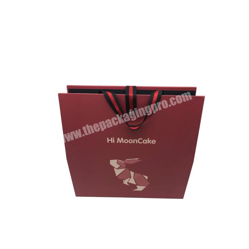 Custom handmade logo recycled cardboard packaging magnetic closed black shoes clothes paper gift box portable