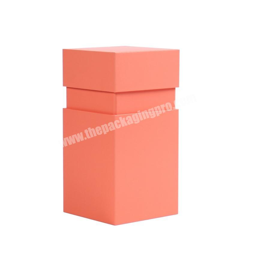 Shop Custom hexagon gift boxes for candle packaging candle packing boxes lid and bottom candle box