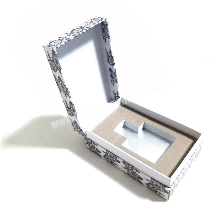 Custom high -end perfume gift box with foam Insert