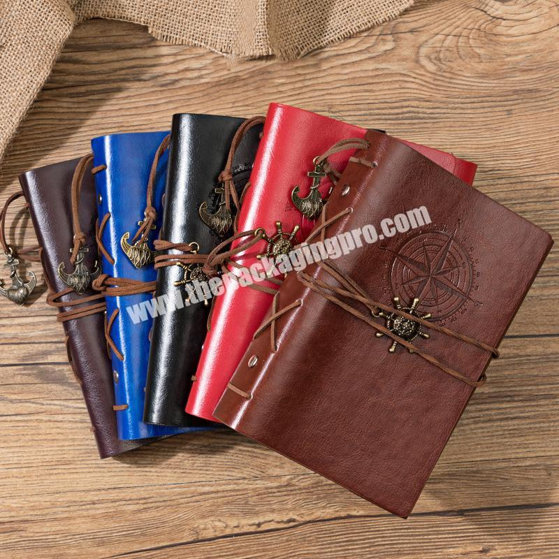 Custom High Quality PU Faux Leather 3 Fold Journal With Company Logo Embossed Silver Gold Stamped For Event Luxury Agenda Print