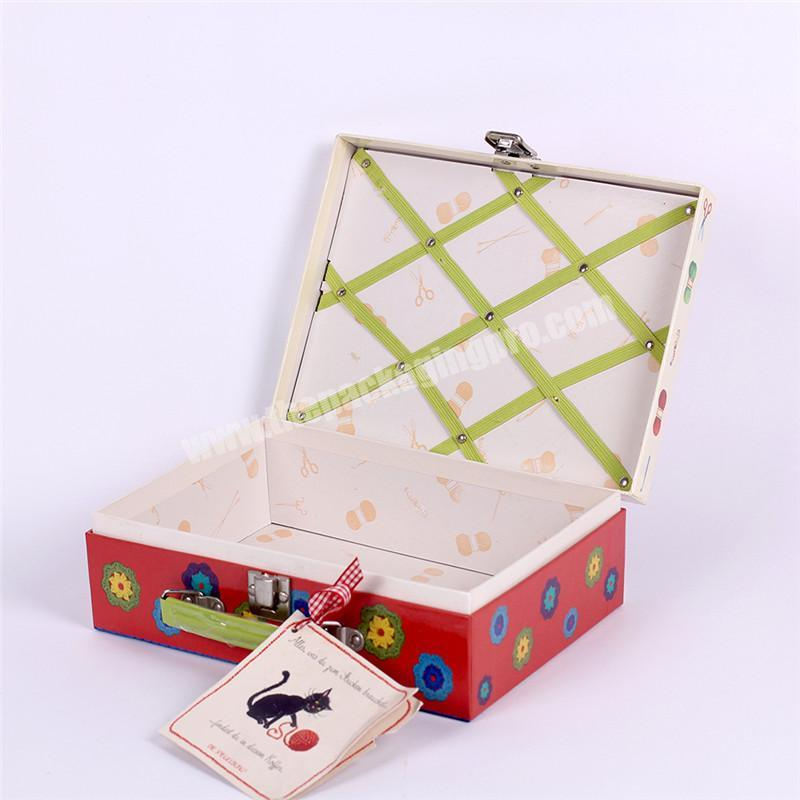 Custom high quality toy's packaging paper storage box