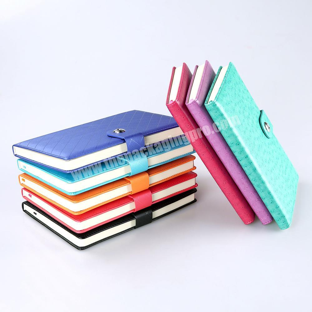 custom Inner pages notebook school supplier exercise book a5 multifunction journal diary