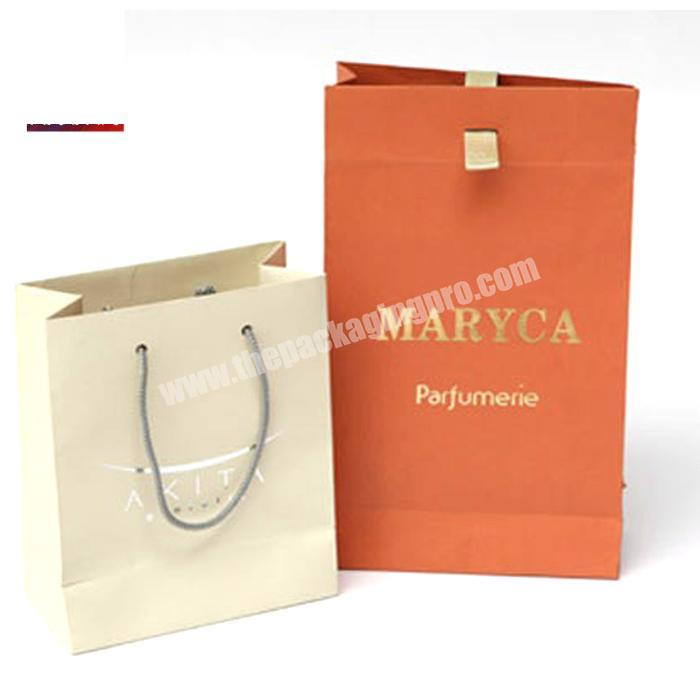 Custom Kraft Paper Bag With Foil LOGO Printing Crownwin Package