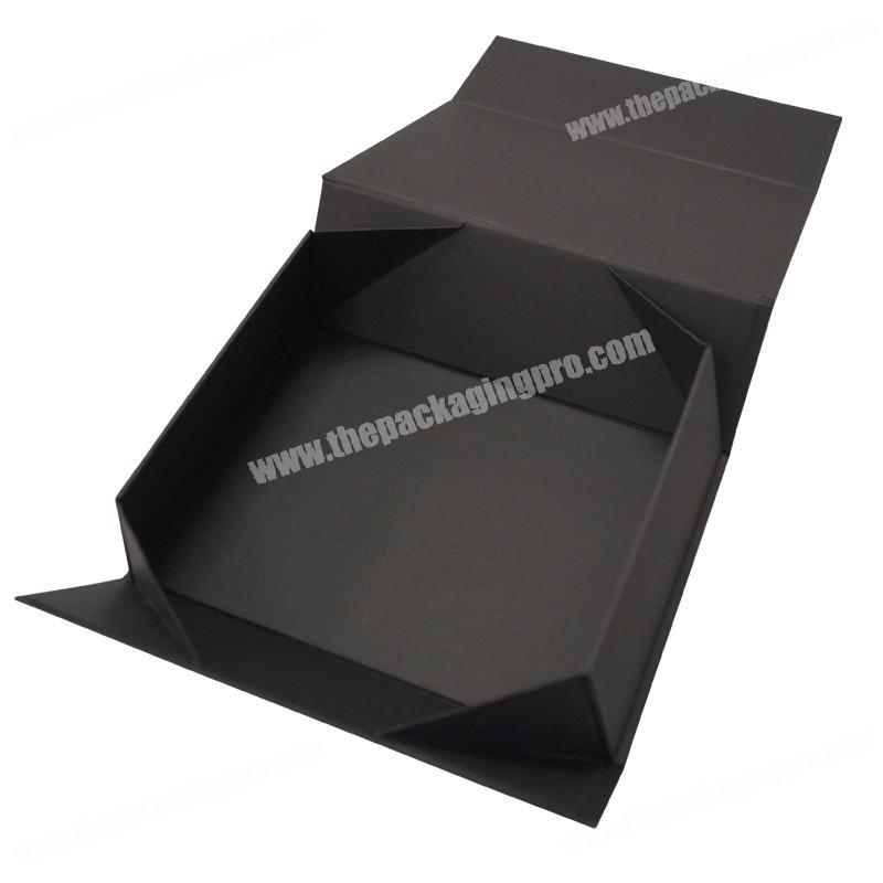 Custom l paper Gift Box packaging collapsable folding custom gift boxes for wig