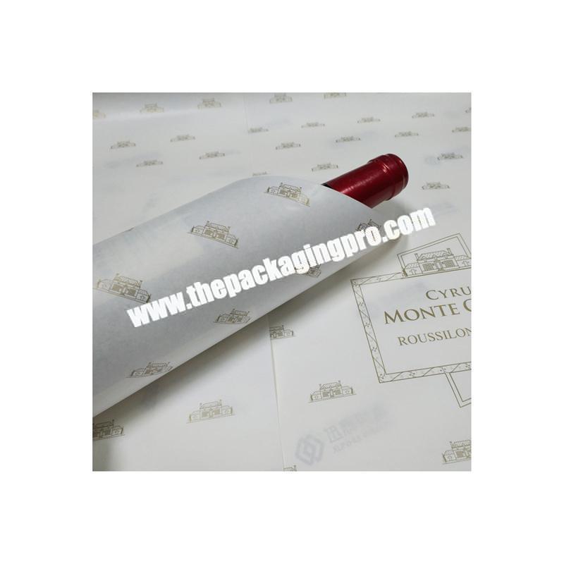 Custom logo high quality tissue paper gift
