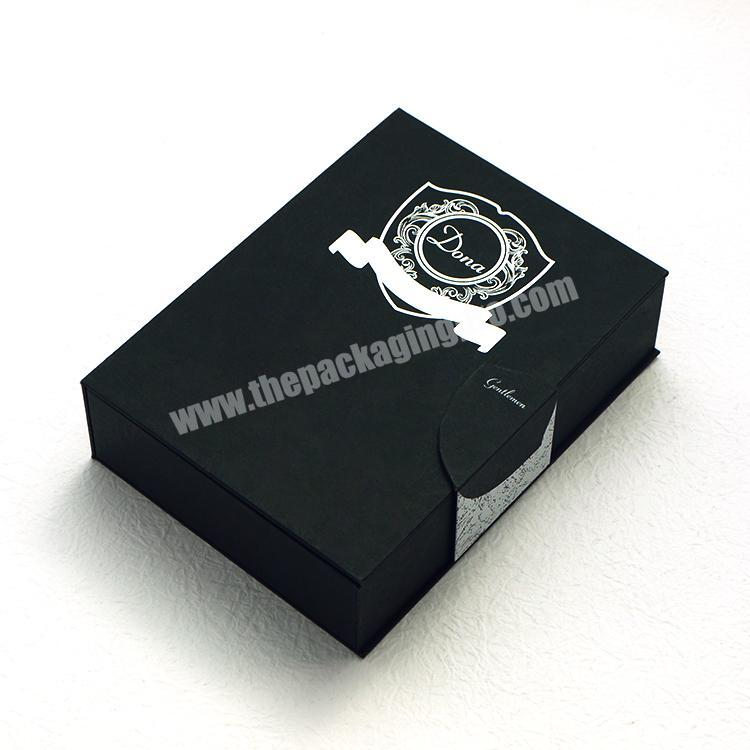 Factory Custom logo printed perfume fragrance packaging cardboard display gift box with magnetic close