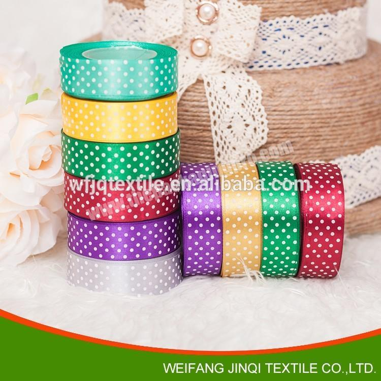Factory Custom logo printed ribbons for decoration