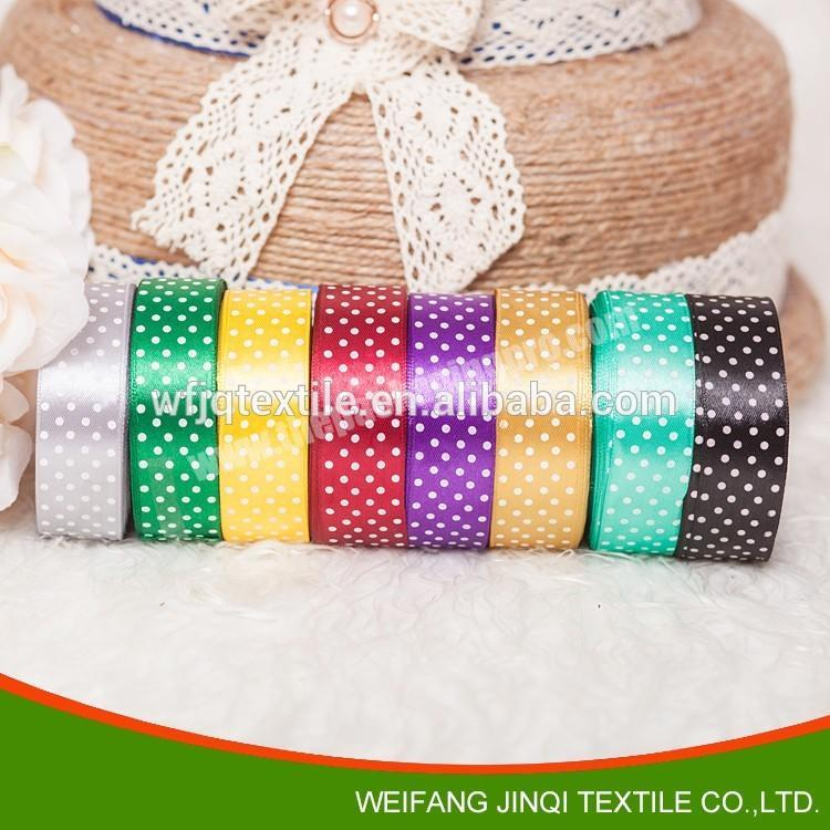 Supplier Custom logo printed ribbons for decoration