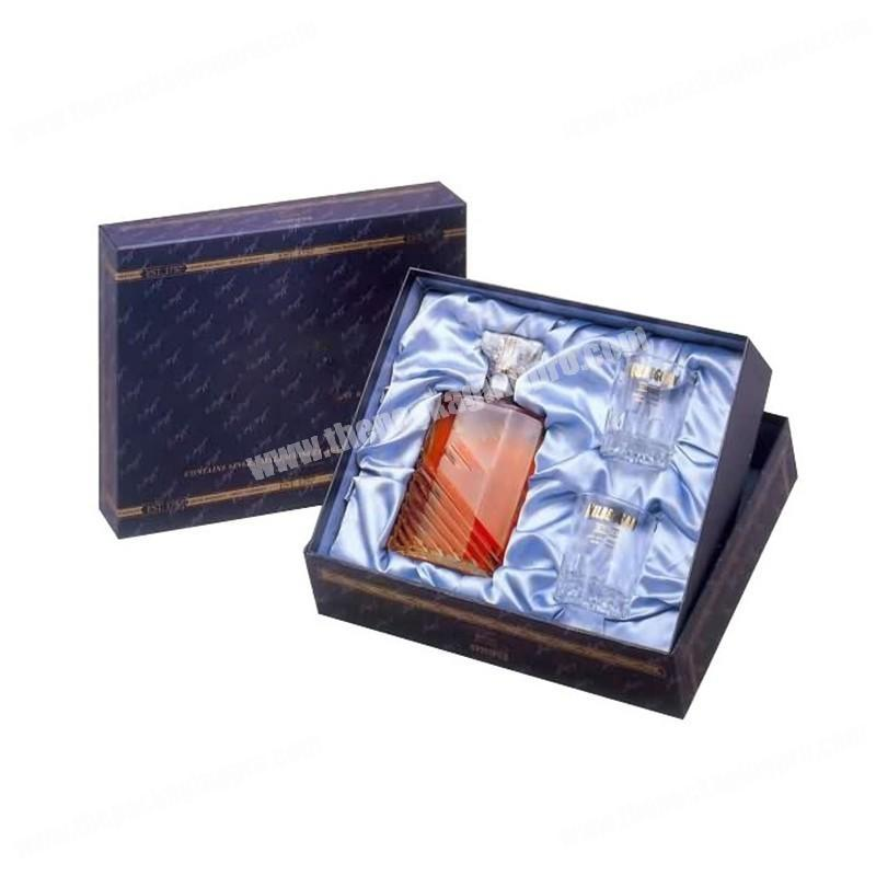 Custom luxury 10ml cosmetic box EVA insert packaging perfume bottle fancy gift box