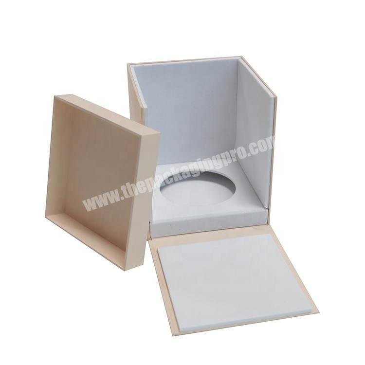 Custom Luxury Cardboard Paper Packaging Cosmetics Perfume Gift Box With Inserts