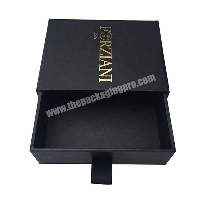 Custom luxury paper packaging hair extension drawer gift box for cosmetic