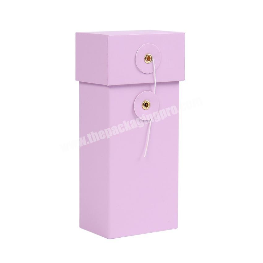 Supplier Custom luxury paper perfume box packaging design