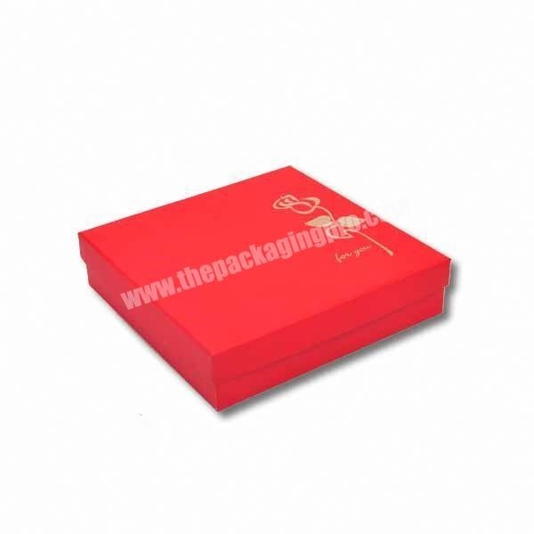 Custom Luxury Recycled Electronics Fashional Base And Lid Rigid Cardboard Paper Gift Box
