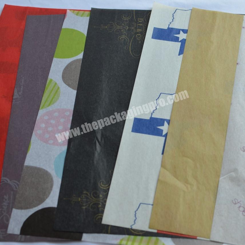Shop custom made copy paper tissue paper for wrapping wine bottle
