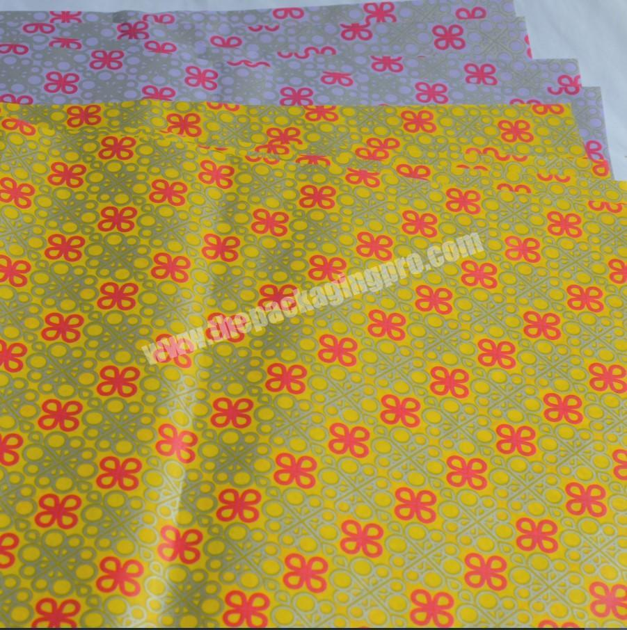 Manufacturer custom made cotton paper 28 gram tissue paper and wrapping paper