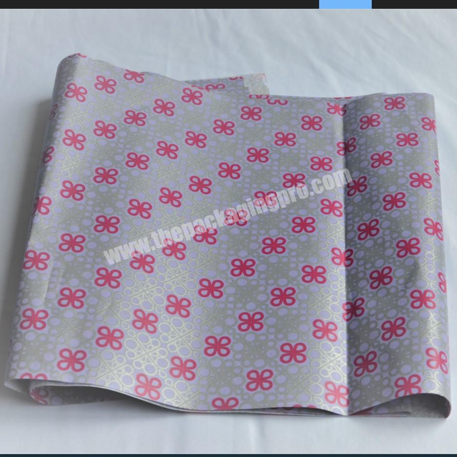 Wholesale custom made cotton paper 28 gram tissue paper and wrapping paper