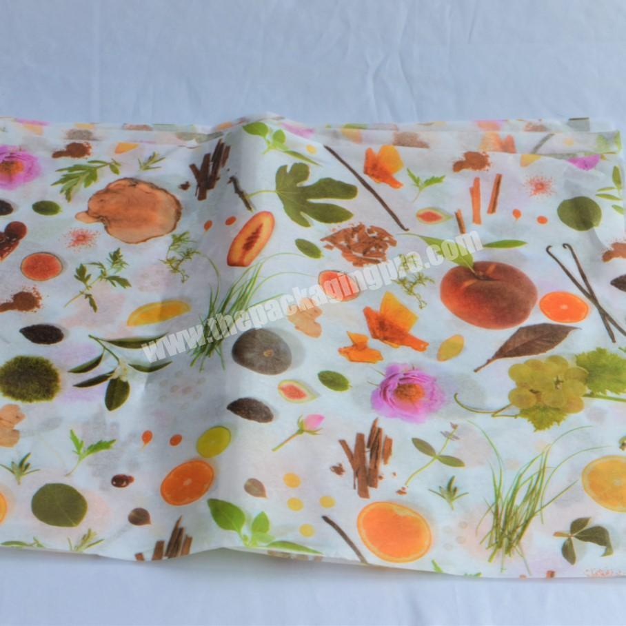 Supplier custom made cotton paper 28 gram tissue paper and wrapping paper