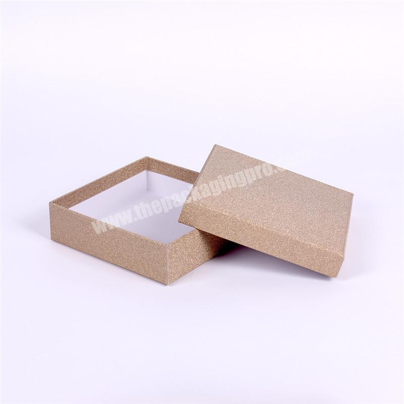 Custom made small cardboard gift box for fash paper packaging