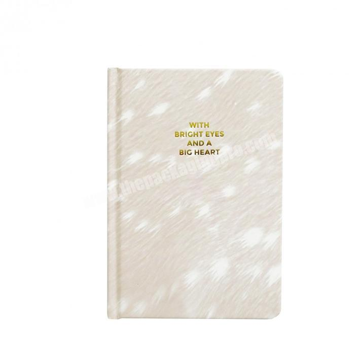 Custom marble print hardcover notebook planner for student