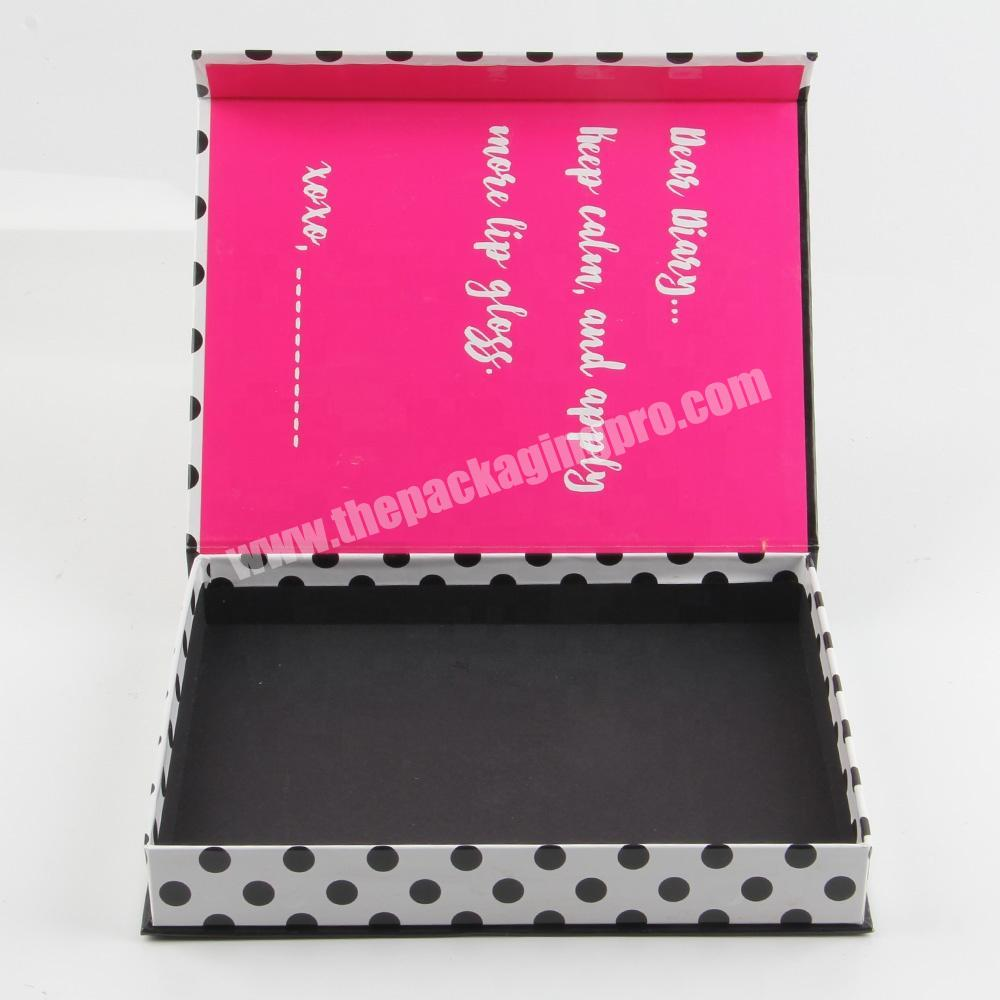 Factory custom mascara packaging lipstick cosmetic offset display box package
