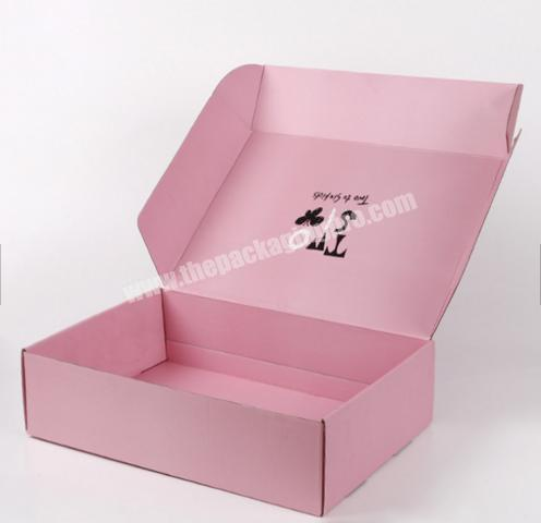 Custom offset printing recycled folding small rectangle cardboard wedding gift packaging box