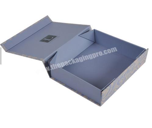 Shop Custom offset printing recycled folding small rectangle cardboard wedding gift packaging box