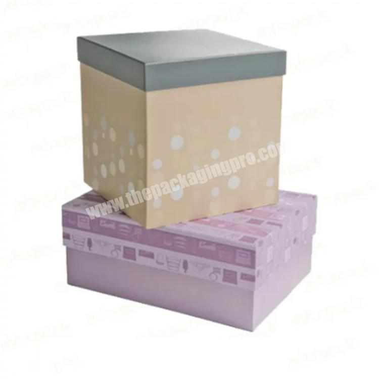 custom packaging black cardboard box with transparent lid shipping boxes
