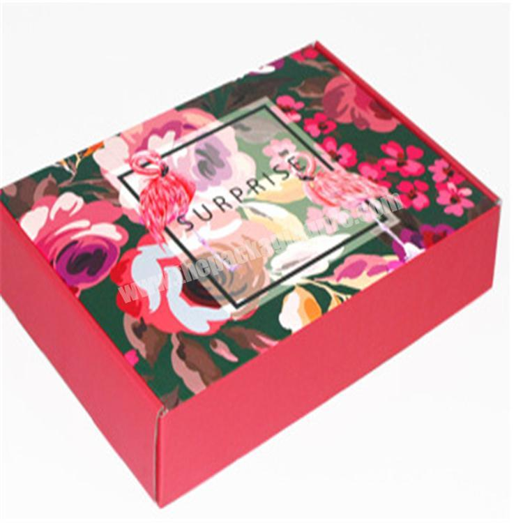 custom packaging box for shipping food clothing box