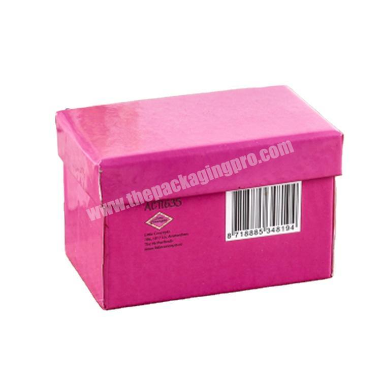 custom packaging cardboard box with magnetic lid shipping boxes