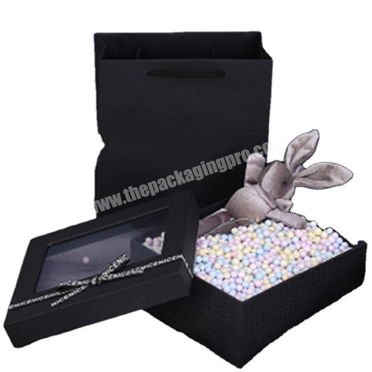 custom packaging cardboard cube box with lid gift boxes