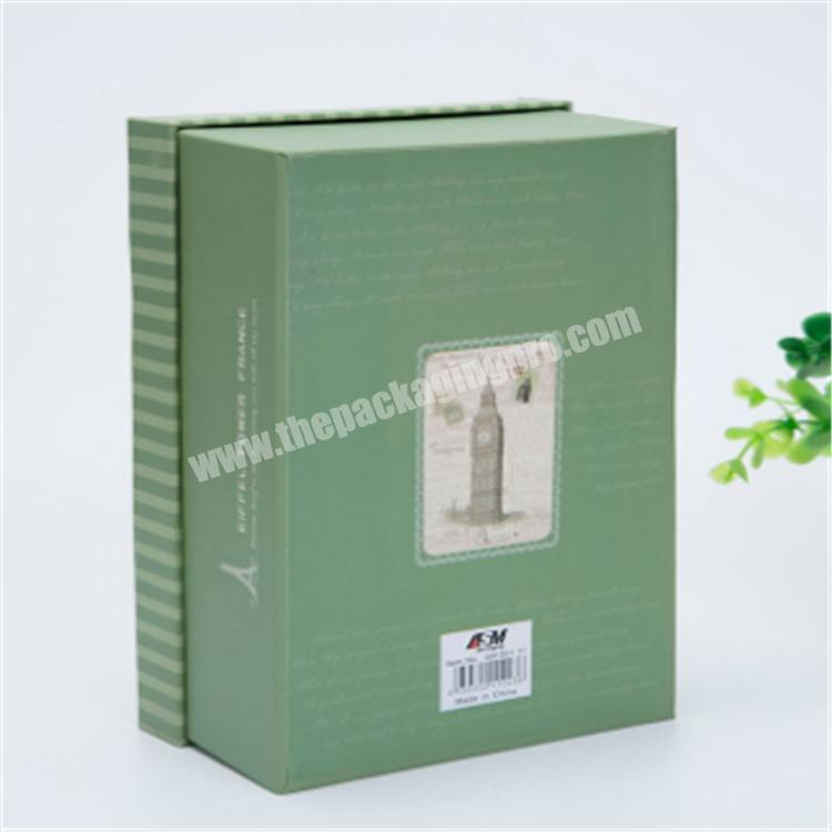 custom packaging gift box with silk lid gift boxes