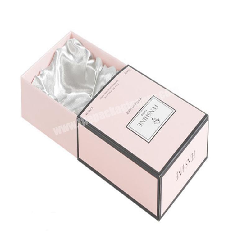 custom packaging lash slide drawer box gift box
