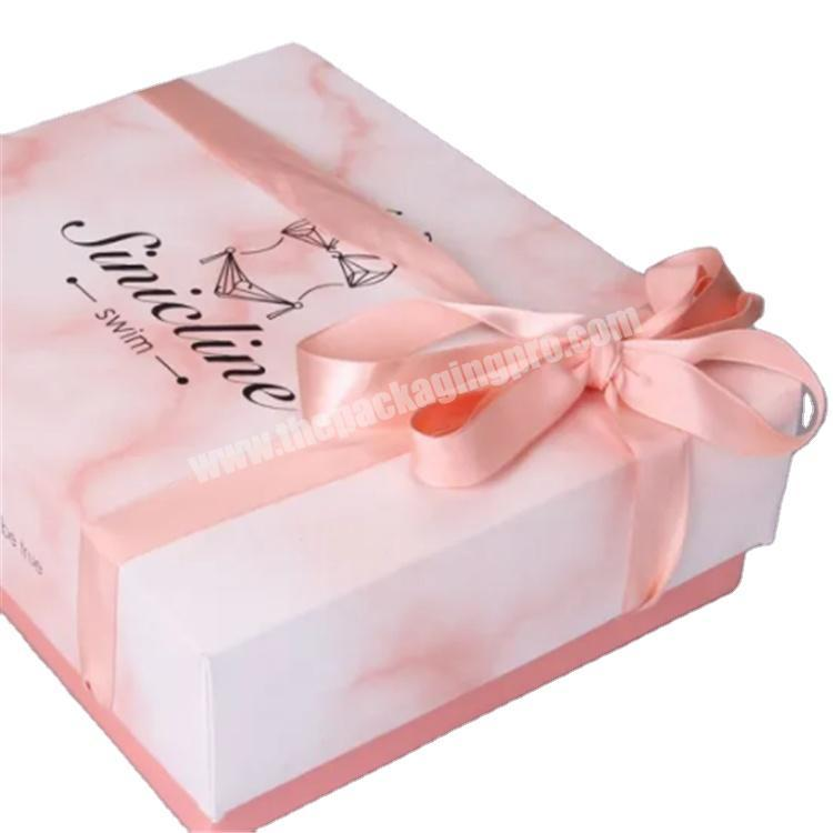 custom packaging luxury gift box with lid shipping boxes