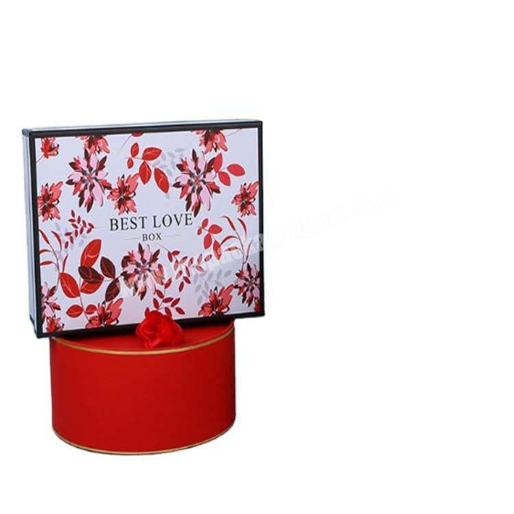 custom packaging round gift boxes with clear lids gift boxes