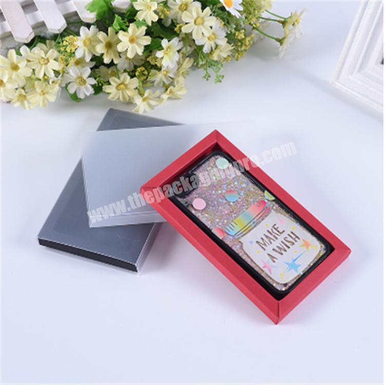 custom packaging slide drawer box paper gift box