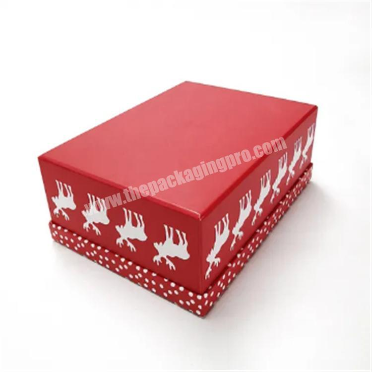 custom packaging white gift box with lid shipping boxes