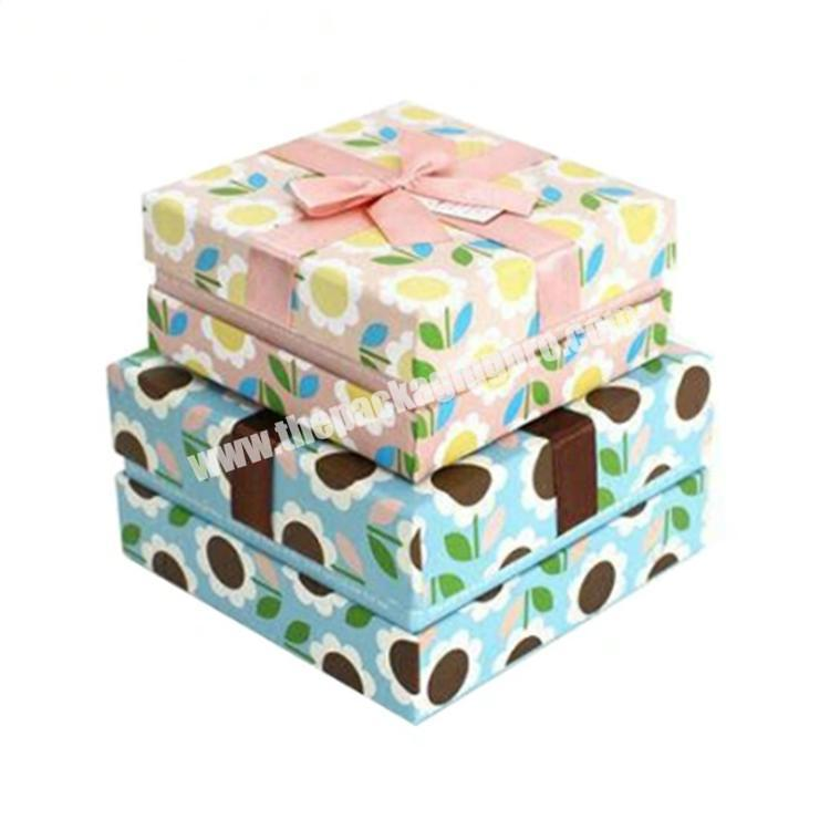 custom packaging wooden gift box with lid gift box