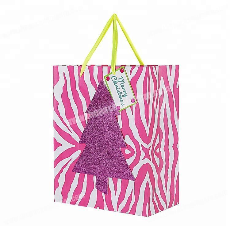 Custom Paper Gift Bags Handmade Christmas Gift Bags Custom Logo