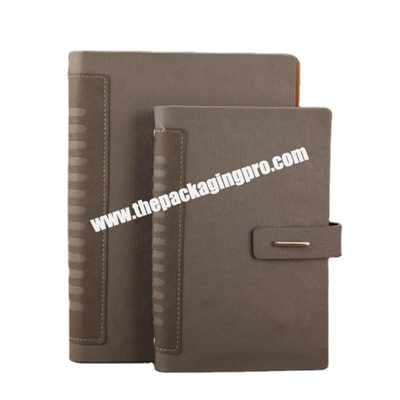 Custom Personalized High Quality Hardcover Business Leather Notebook A5 Daily  Pu Agenda Pocket Planner Journal Notebooks