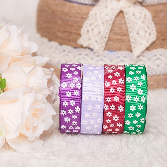 Custom printed 38mm Halloween  bows grosgrain ribbon